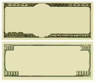 Fondo en blanco del dinero Imagenes de archivo