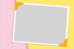 Fondo en blanco para la tarjeta de felicitaciones Imagen de archivo