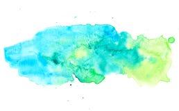 Fondo en colores pastel colorido de la pintura de la acuarela Imagen de archivo