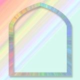 Fondo en colores pastel con el marco Ilustración del Vector