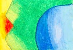 Fondo en colores pastel del arte imagenes de archivo