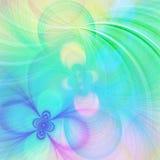 Fondo en colores pastel del fractal Imagen de archivo