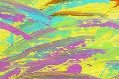 Fondo en colores pastel del papel pintado de los movimientos del artista stock de ilustración