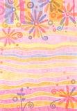 Fondo en colores pastel floral Imagenes de archivo