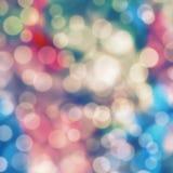 Fondo en colores pastel ligero de Bokeh Imagen de archivo