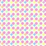 Fondo en colores pastel retro Fotografía de archivo libre de regalías