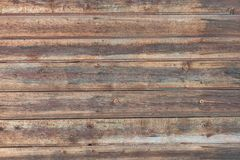 Fondo en estilo un rústico de los viejos tableros de madera horizontales Fotografía de archivo libre de regalías