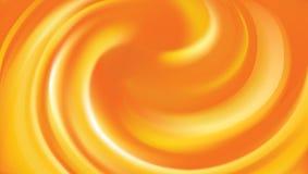 Fondo encrespado naranja ilustración del vector