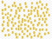 Fondo enrrollado del confeti ilustración del vector
