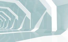 Fondo entonado azul abstracto 3 d del CG Foto de archivo
