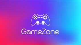 Fondo ENV di Gamezone illustrazione di stock