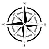 Fondo EPS de la navegación marina del compassrose del compás Foto de archivo libre de regalías
