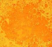 Fondo escénico de puntos y de manchas de la pintura de aceite Imagenes de archivo