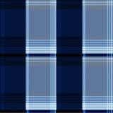 Fondo escocés azul de la materia textil del vector Imagenes de archivo