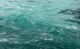 Fondo esmeralda del agua foto de archivo
