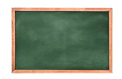 Fondo/espacio en blanco vacíos del tablero de tiza fondo del greenboard Textura de la pizarra Fotografía de archivo libre de regalías