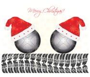 Fondo especial de la Navidad Imágenes de archivo libres de regalías
