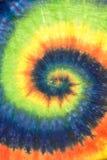 Fondo espiral del modelo del teñido anudado imágenes de archivo libres de regalías