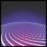 Fondo espiral del vector Foto de archivo
