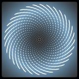 Fondo espiral del vector Foto de archivo libre de regalías