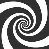 Fondo espiral hipnótico ilustración del vector