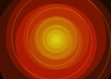 Fondo espiral rojo del vector Foto de archivo