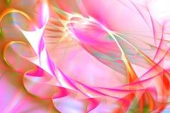 Fondo espiral rosado abstracto stock de ilustración