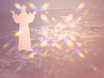 Fondo espiritual imagenes de archivo