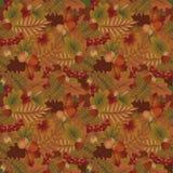 Fondo estacional del otoño, vector Fotos de archivo libres de regalías