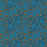 Fondo estilizado de la flor Imagen de archivo libre de regalías