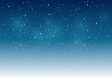 Fondo estrellado del cielo Fotos de archivo