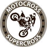Fondo estremo del motosport Fotografia Stock Libera da Diritti