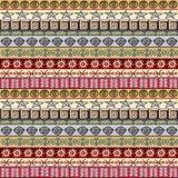 Fondo etnico tribale di simboli royalty illustrazione gratis