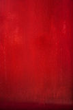 Fondo, extracto o textura de madera rojo de la puerta. Fotografía de archivo