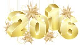 Fondo F4 2015 del Año Nuevo 2016 Imagen de archivo
