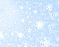 Fondo falso de la nieve Imagen de archivo libre de regalías