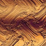 Fondo fangoso bronzeo di struttura Materiale illustrativo metallico molto ricco & di lusso immagine stock libera da diritti