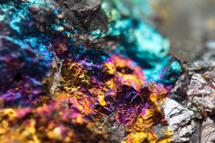 Fondo fantastico, metallo dell'oro (grande raccolta) Fotografia Stock
