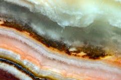 Fondo fantástico, magia de una piedra, roca cristalina Fotos de archivo libres de regalías