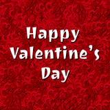 Fondo felice dei cuori di vettore di San Valentino Immagine Stock Libera da Diritti