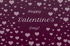 Fondo felice dell'estratto di giorno del ` s del biglietto di S. Valentino Fotografia Stock Libera da Diritti