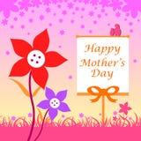 Fondo felice di celebrazione di festa della Mamma Fotografia Stock