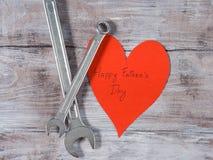 Fondo felice di concetto di festa del papà fotografia stock libera da diritti