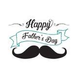 Fondo felice di giorno di padri illustrazione vettoriale