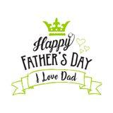 Fondo felice di giorno di padri royalty illustrazione gratis