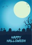 Fondo felice di Halloween Fotografie Stock
