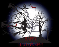 Fondo felice di Halloween Immagine Stock