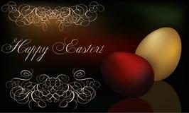 Fondo felice di Pasqua illustrazione vettoriale