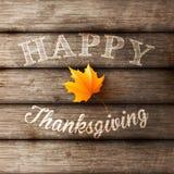 Fondo felice di ringraziamento Immagini Stock