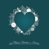 Fondo felice di San Valentino Fotografie Stock